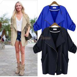 Wholesale New Arrival Plus size Womens Clothing Sleeve loose Jacket