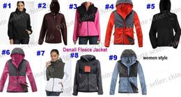 Wholesale 2016 High quality new Fleece Womens Fleece Hooded Jacket Winter Outdoor Sports Warm Fleece Sweatshirt Outerwear Black White S XXL