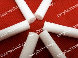 Wholesale Fragrances Cotton Wick Blank Nasal Inhaler Wicks Essential Oil Cotton Wicks Nasal Inhaler Blank Sticks Cotton Wire Perfumes Atomizer Coil