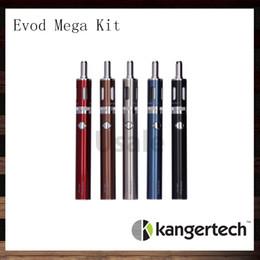 online shopping Kanger Evod Mega Express Kit Original Kangertech Evod Mega E cigarette Starter Kits With ml Atomizer mAh Battery