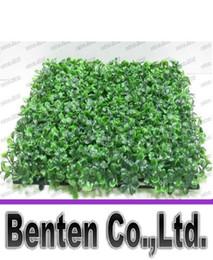 Новый горячий продавать искусственный газон Искусственные пластиковые самшита ковыль 25см * 25см DHL бесплатная доставка LLFA4978F