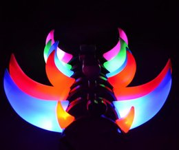 Bull Luminous Horns Headband As For Christmas Gifts Or Kids Toys Decoration Supplies Clearance Sale Hot Free Shipping