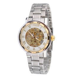 mens watches deals online mens watches deals for best deal mens full steel hand wind watch classic wristwatches skeleton mechanical men fashion stainless steel watch 1pc