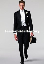 Wholesale 2015 New Custom made Black wedding suits for mens suits CM7435Groom Men Wedding Formal Wear