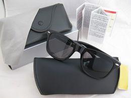 Wholesale New rb2140 original wayfarer sun glasses classic vintage retro rb wayfarer sunglasses men women eyeglasses mm mm M12933