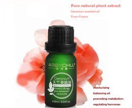 Wholesale guangzhou oem pure organic and natural aroma source essential rose geranium oil for massage