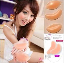 OPP embalaje Filetes de pollo Silicona Breast Enhancers Bra sujetador de inserción de silicona sujetador Push Up Inserciones Invisiable potenciadores de mama Pads de DHL
