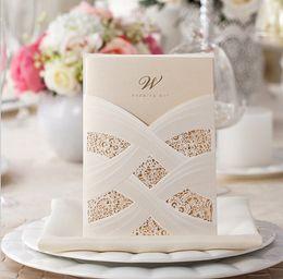 Wholesale 2015 Hot Selling Simple Design Wedding Invitations Invitation Cards set Cheap Wedding Invitations Factory Price Wedding EK IN2045