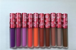 Wholesale Cheap Price Makeup Lime Crime VELVETINES Lip Gloss THE ORIGINAL LIQUID TO MATTE LIPSTICK colors by dhl