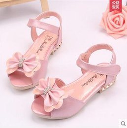 online shopping Summer Korean Version Of The New Children S Shoes Diamond Butterfly Big Virgin Baby Girls Sandals Princess Shoes Tide