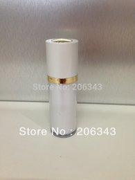 Wholesale 30ml rotate Acrylic pearl white press pump lotion emusion bottle cosmetic container press pump bottle Cosmetic bottle