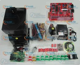 Solt game kits with XXL 15 in 1 PCB, hopper, power coin mech, buttons, Wiring etc for casino slot game machine same as the photo
