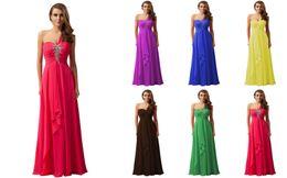 Wholesale One Shoulder Bridesmaid Dresses Cheap Sequins Floor Length Long Prom Gowns Sexy Vestido De Fiesta Femal Formal Bridesmaid Clothes