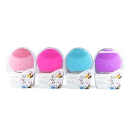 Wholesale Rechargeable Foreo Luna Mini Ultrasonic Instrument Super Facial Cleaner Waterproof Charge Electric Lun Foreo Brightening Cleansing free DHL