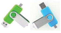 256 GB 128 GB 64 GB Móvil USB Flash Drive OTG de la aguja para el color al azar de almacenamiento externo USB memory stick micro teléfonos inteligentes tablet PC
