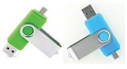 256GB 128GB 64GB смартфон USB Flash Drive OTG Ручка для смарт-телефонов планшетного компьютера случайный цвет внешнего хранения Micro USB флэш-памяти