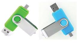 256Go 128Go 64GB Smart Phone USB Flash Drive OTG Pen pour les téléphones intelligents ordinateur tablette couleur aléatoire stockage externe micro usb memory stick