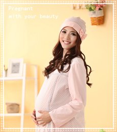 Wholesale 2015 New Fashion Casual Women Hat Bowtie Decoration Cap For Pregnant Lady Warm Windproof Hat