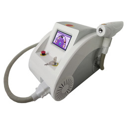 Wholesale Touch screen Q switched nd yag laser beauty machine tattoo removal Scar Acne removal nm nm nm