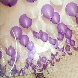 Wholesale holiday supplies ballons latex Inflable thickening ballons pearl birthday balloon wedding party decoration