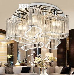 Crystal chandelier for bedroom thejots discount suspended bedroom chandelier suspended bedroom lighting ideas aloadofball Images