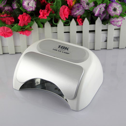 Wholesale Professional Nail LED Lamp k W Red White Black led Nail UV Gel Curing Lamp Light Nail Machine Beauty UV Lamp Light Nail Dryer