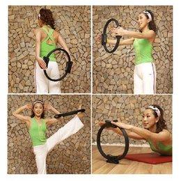 Wholesale Purple Pilate Ring Pilates Magic Fitness Circle Yoga QT B