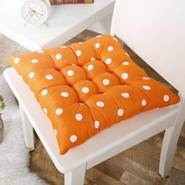 new high quality cushion soft home office cotton polka dot seat cushion memory cotton buttocks chair pads - Office Chair Seat Cushion