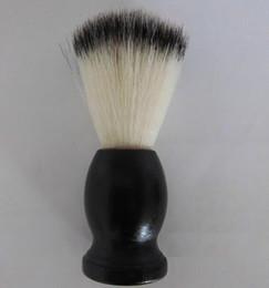 Brosse de rasage Poignée en bois noire total 10.5CM 20PCS / LOT avec le meilleur prix et la haute qualité