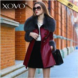 Wholesale 2015 European Style Women Clothes Wool Fur Coat High end Cashmere Coat Fashion Real Fur Coats For Women T111
