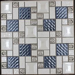discount white porcelain mosaic tile | 2017 white porcelain mosaic