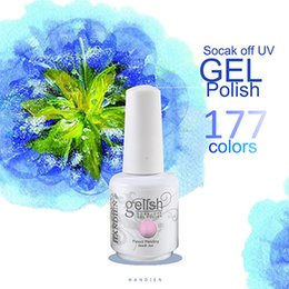 Wholesale 100 Brand New Hot Sale Gelish Soak Off Gel Polish For Nail Art Colors ml mi oz Factory