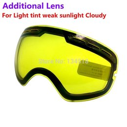 discount ski goggles mnt9  Discount ski goggles night lens brand double brightening lens for ski  goggles Night of Model Number