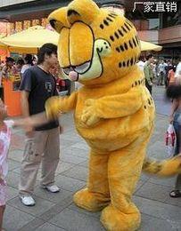 Wholesale HOT Custom Products Plush Cartoon Character Costume mascot Garfield super lovely