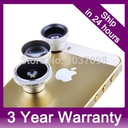 online shopping 4 in Magnetic Wide angle Macro FishEye TELEPHOTO X Mobile Phone Lens Kit for iPhone S S iPad Samsung galaxy S3 S4 Note2 order lt no