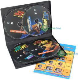 Wholesale Hot sell ABS Level DVD SET Cards SEALED Workout Fitness shape with all Guidance nutrition manual