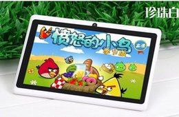 Wholesale 7 inch tablets Q88 full A33 qual core dual camera 512GB 8G wifi GPScapacitive screen cheapest from tablet pc quad core cheapest manufacturers