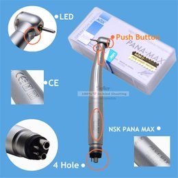 Wholesale New Arrival NSK PANA MAX Dental E generator LED Way High Speed handpiece Holes