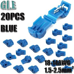 discount jeep wiring connectors 2017 jeep wiring connectors on 20pcs blue scotch quick lock splice wire connector crimp terminals plastic electrical car audio 18 14awg cable kit
