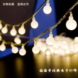 Outdoor Led Party Lights: Discount Wholesale Outdoor Led Party Lights Wholesale-220V 110V 10 Meters  String light Christmas Wedding,Lighting