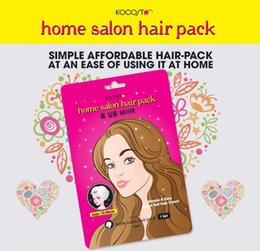 Большие скидки Корея kocostar Главная Парикмахерская обновления маска для волос уход за волосами кондиционер для волос По DHL бесплатной доставкой