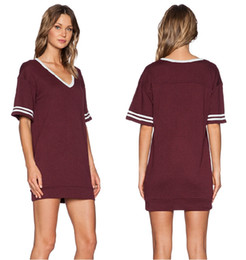 Discount Casual Maroon Dress | 2017 Casual Maroon Dress on Sale at ...