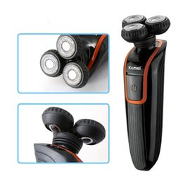 Wholesale Imperméable hommes rasoir électrique en rechargeable rasage électrique tondeuse nez Razor moustache trimmer clipper kit toilettage D