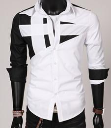 DORP EXPÉDITION 2015 nouvelle personnalité des hommes coutant hommes chemise à manches longues chemises occasionnels affaires manteau. @ C88