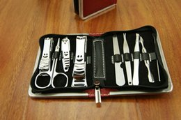 Wholesale manicure set nail care set all round nail scissors manicure tool manicure kit set Nail Art Salon Manicure Kits