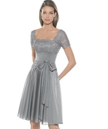 Discount Grey Cocktail Dresses Sleeves - 2017 Grey Cocktail ...