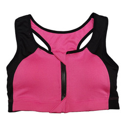 Discount Zip Sports Bra | 2017 Zip Up Sports Bra on Sale at DHgate.com