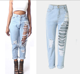 Discount Vintage Torn Jeans  2017 Vintage Torn Jeans on Sale at