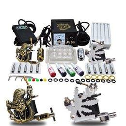 Wholesale Complete Tattoo Kit Machine Gun Power Ink Set