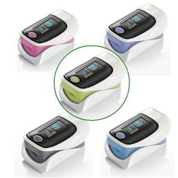 Wholesale Newest Fingertip Oximeter Colors OLED Monitor Finger Pulsoximeter Promotion Health care Color Choose Oximeter Oximetro Oximetry